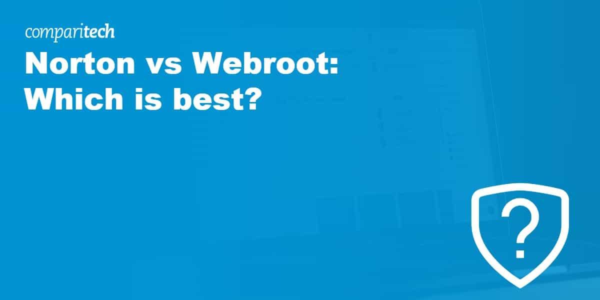Norton vs Webroot