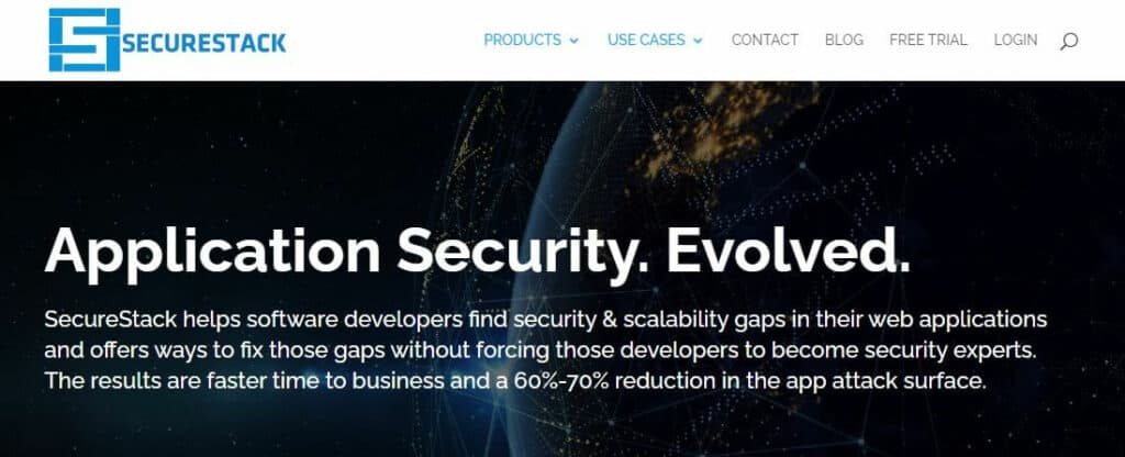 SecureStack cyber security startups.