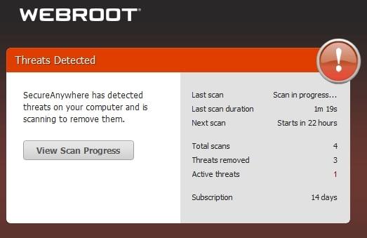 Webroot effectiveness