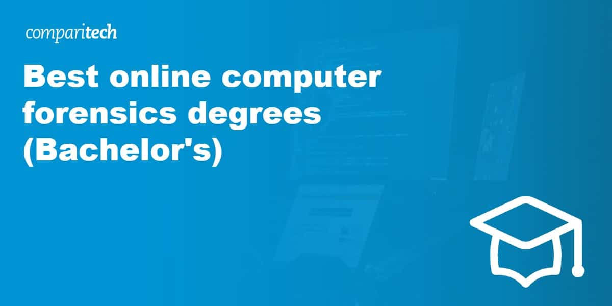 Best online computer forensics degrees