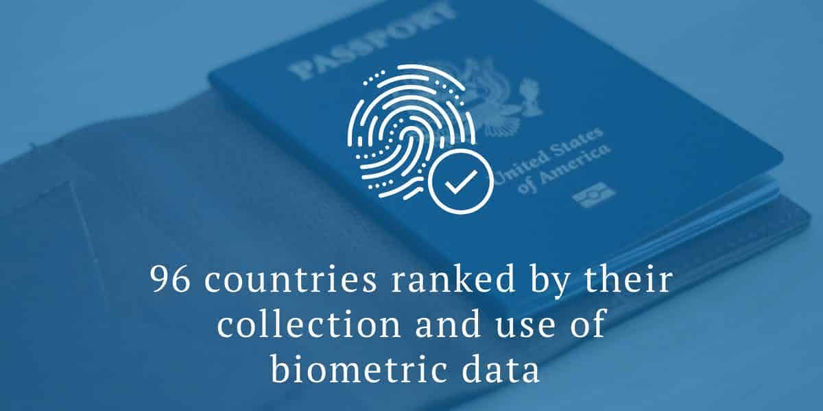 Biometrics by country