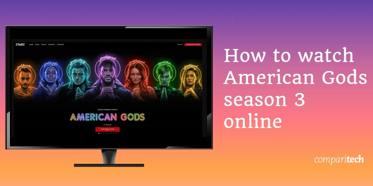 watch American Gods season 3 online