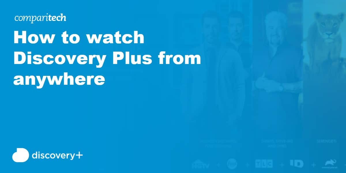 watch Discovery Plus anywhere