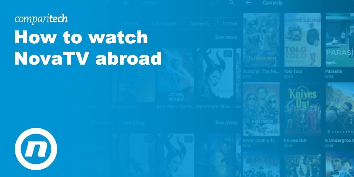 watch NovaTV abroad