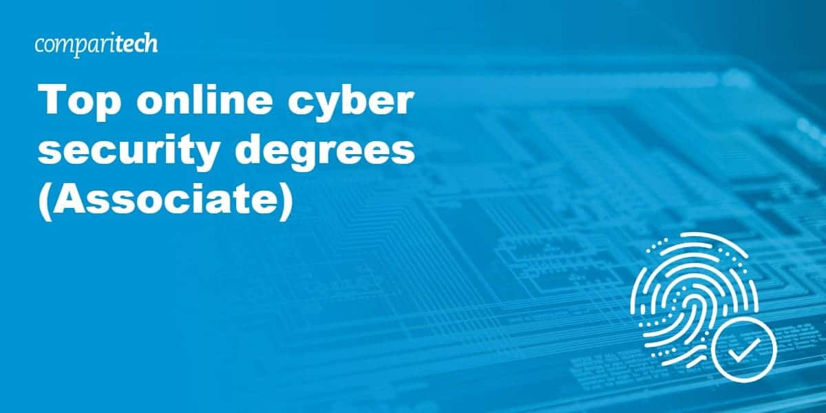 Top online cyber security degrees (Associate)