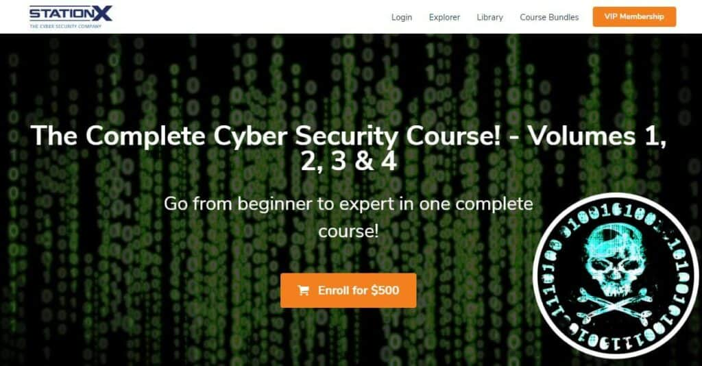 StationX digital forensics course
