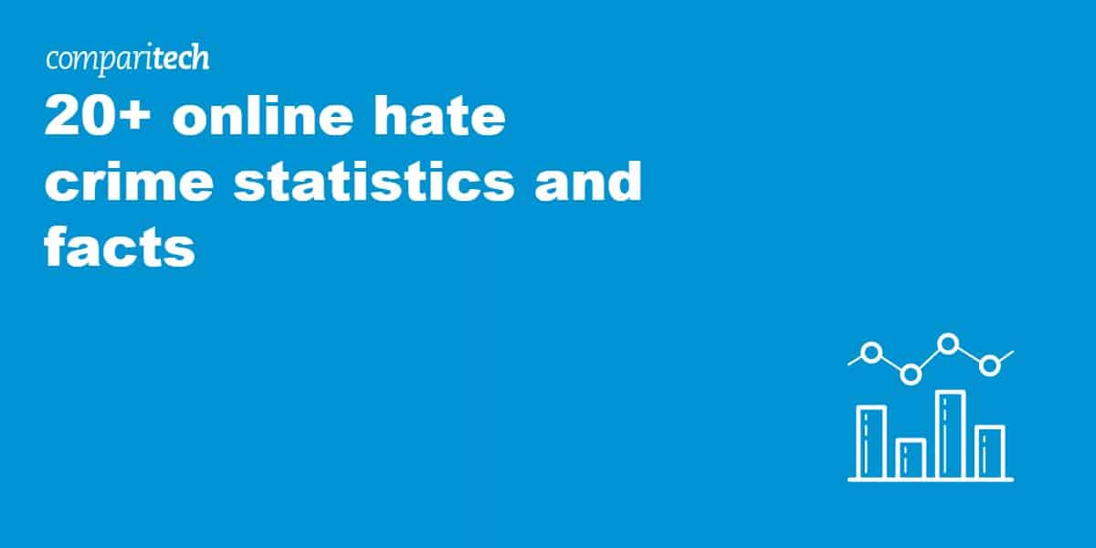 20+ online hate crime statistics and facts