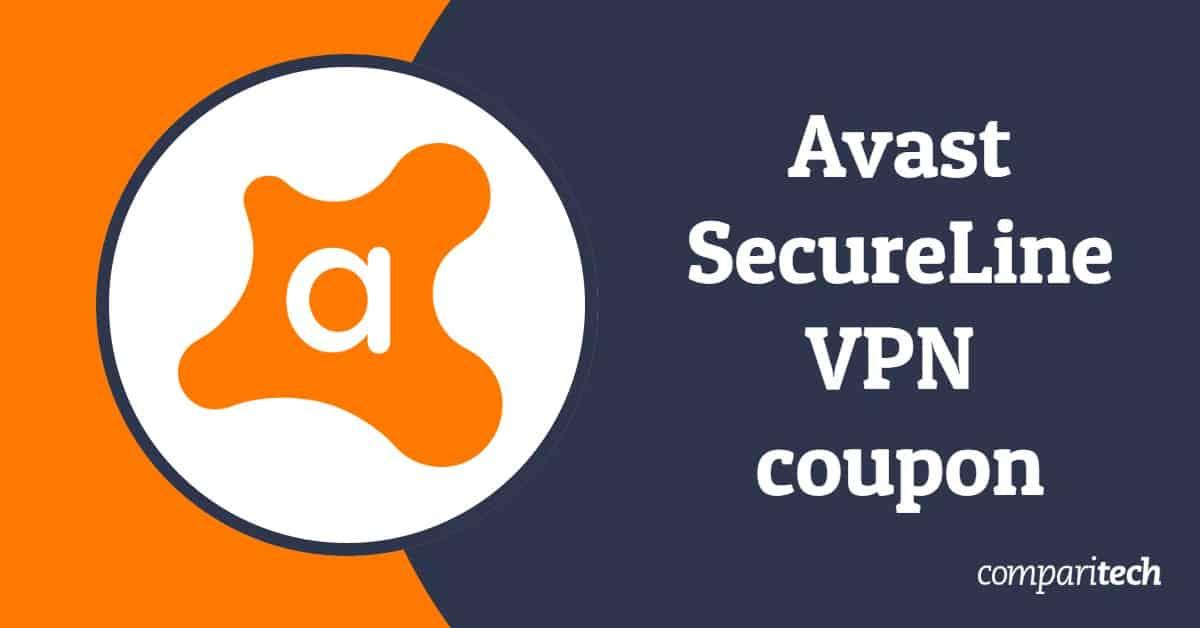 Avast Secureline VPN coupon