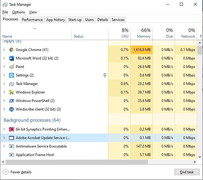Windows Task Manager