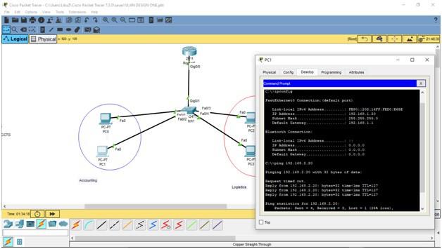 How to Set Up a VLAN final design