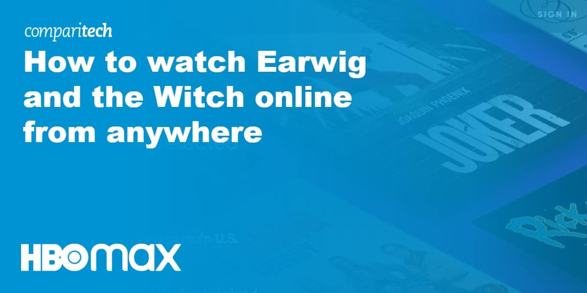 How to watch Earwig and the Witch online from anywhere