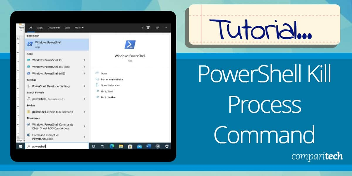 PowerShell Kill Process Command Tutorial