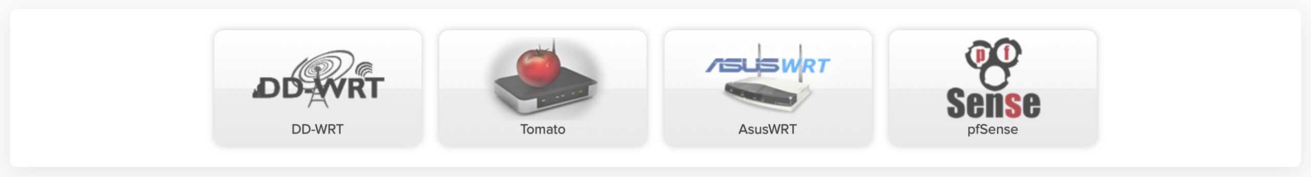 AirVPN - Router Types