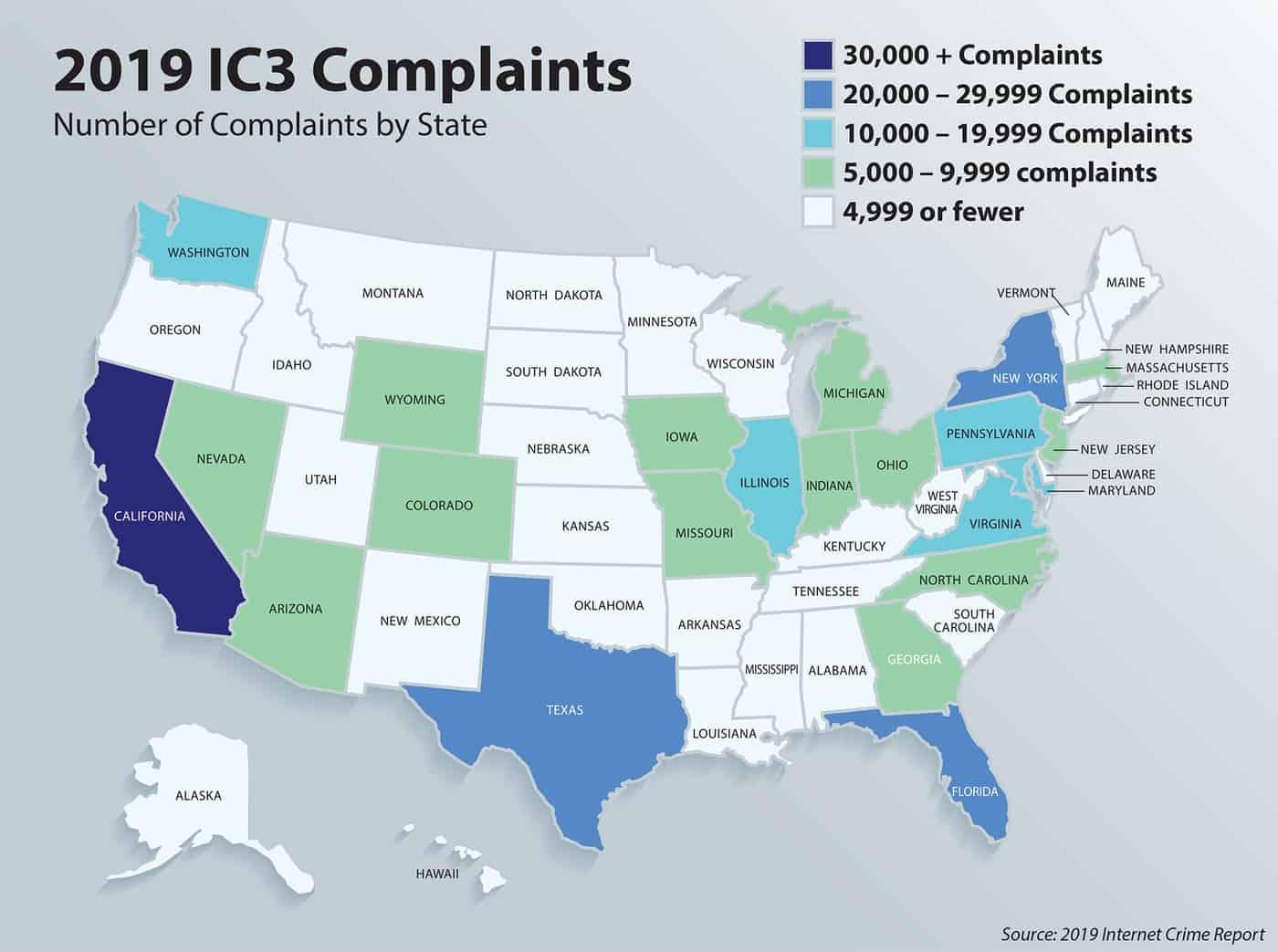 Internet crime complaints report