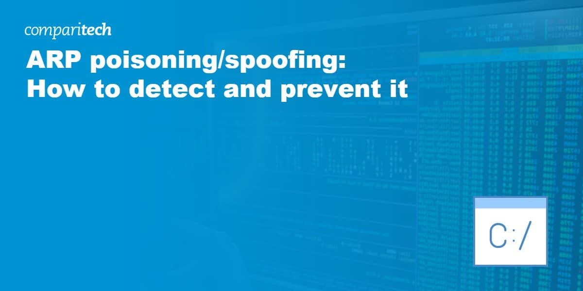 ARP poisoning spoofing