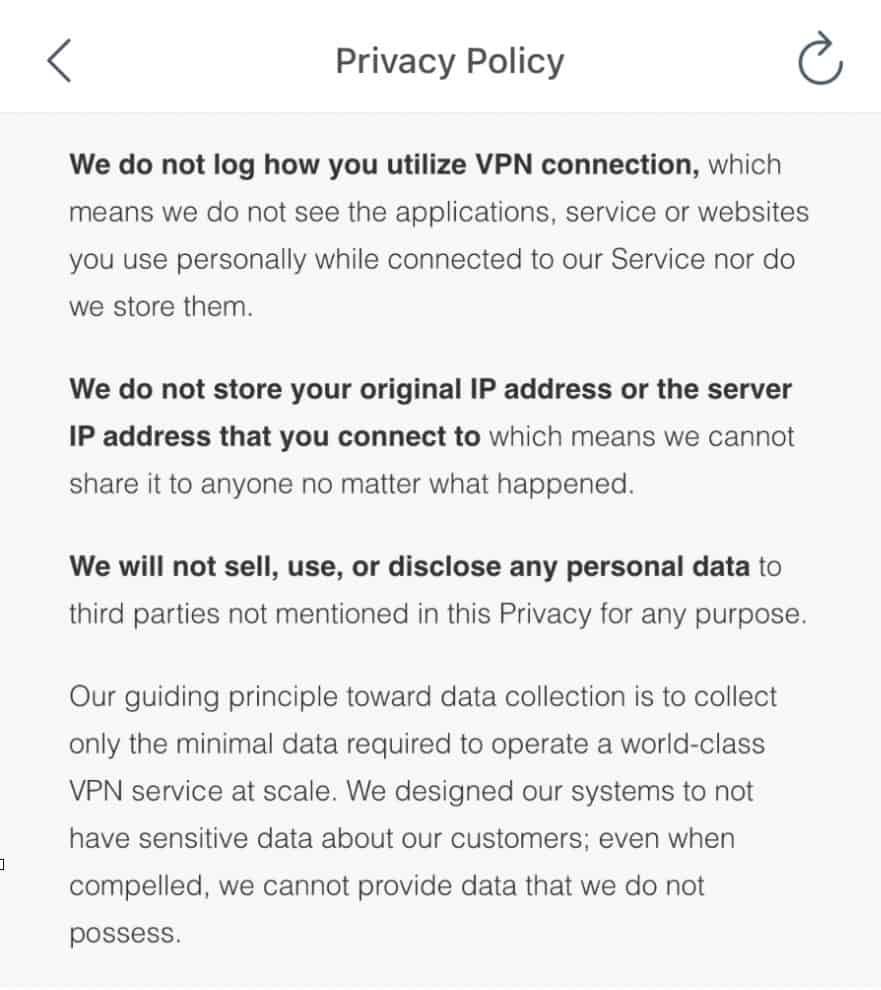 X-VPN - Privacy Policy 1