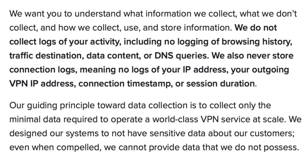 X-VPN - ExpressVPN - Privacy Policy