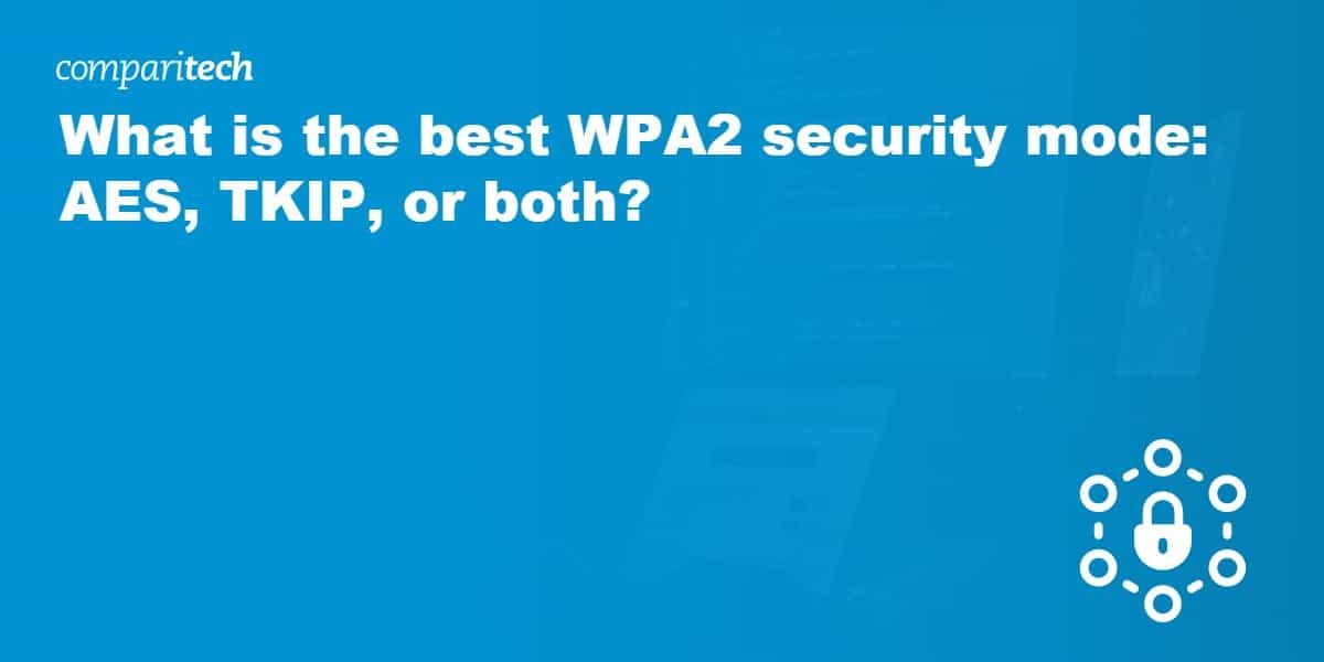 WPA2 security mode