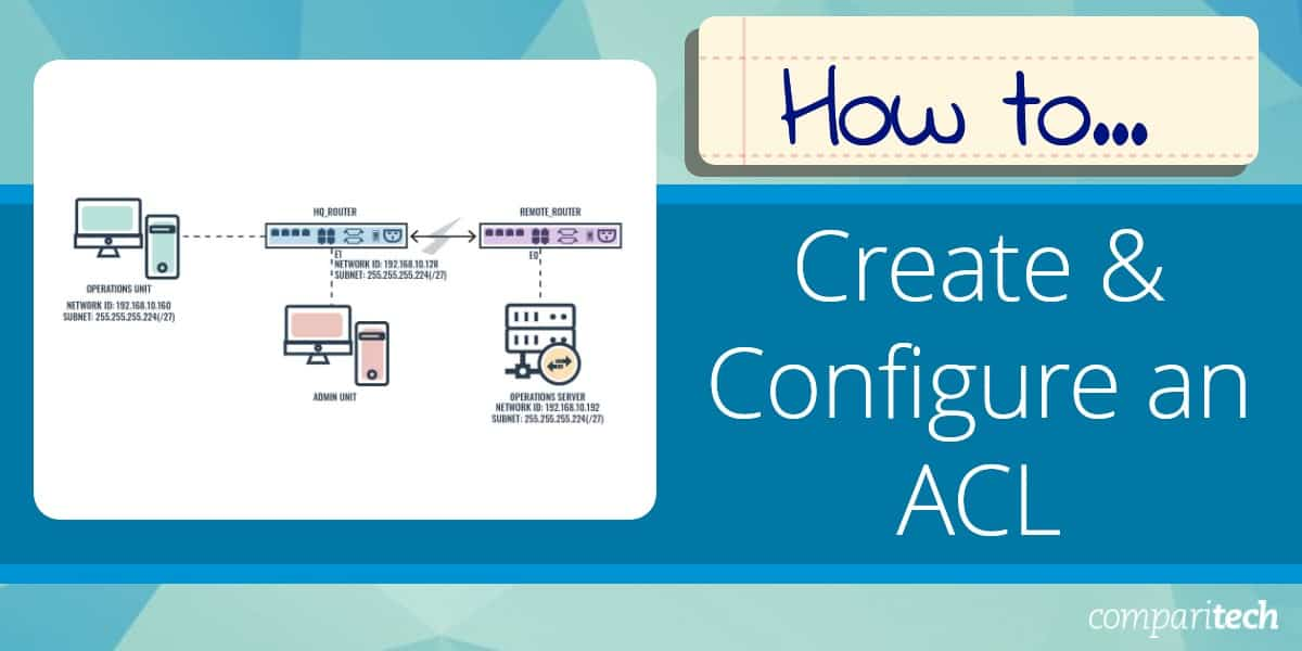 How to Create & Configure an ACL