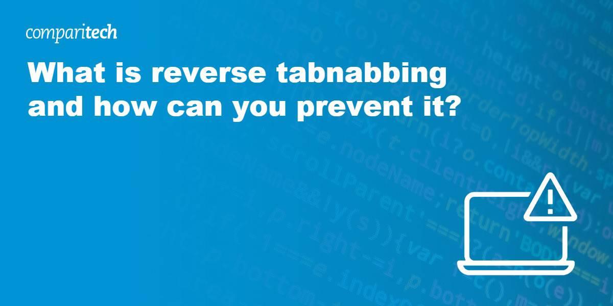 What is reverse tabnabbing