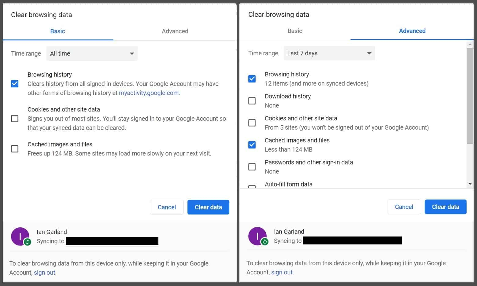 How to clear browser history in Chrome
