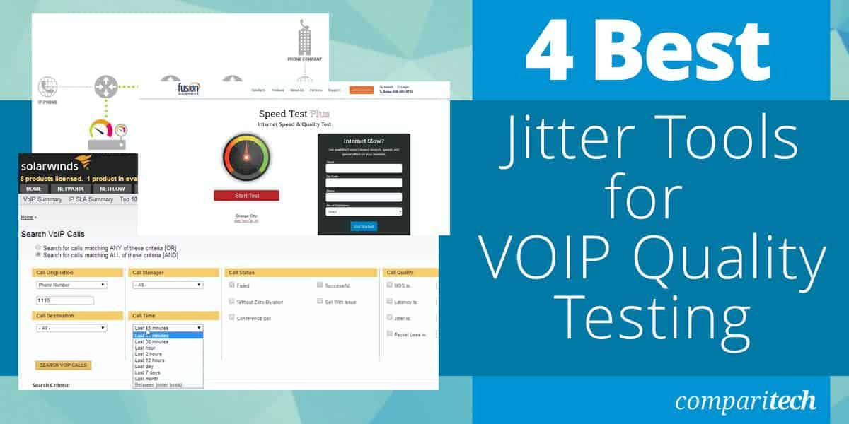 Best Jitter Tools for VOIP Quality Testing