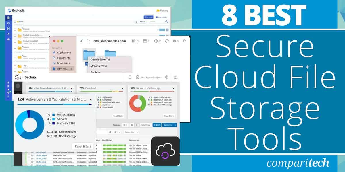 Best Secure Cloud File Storage Tools