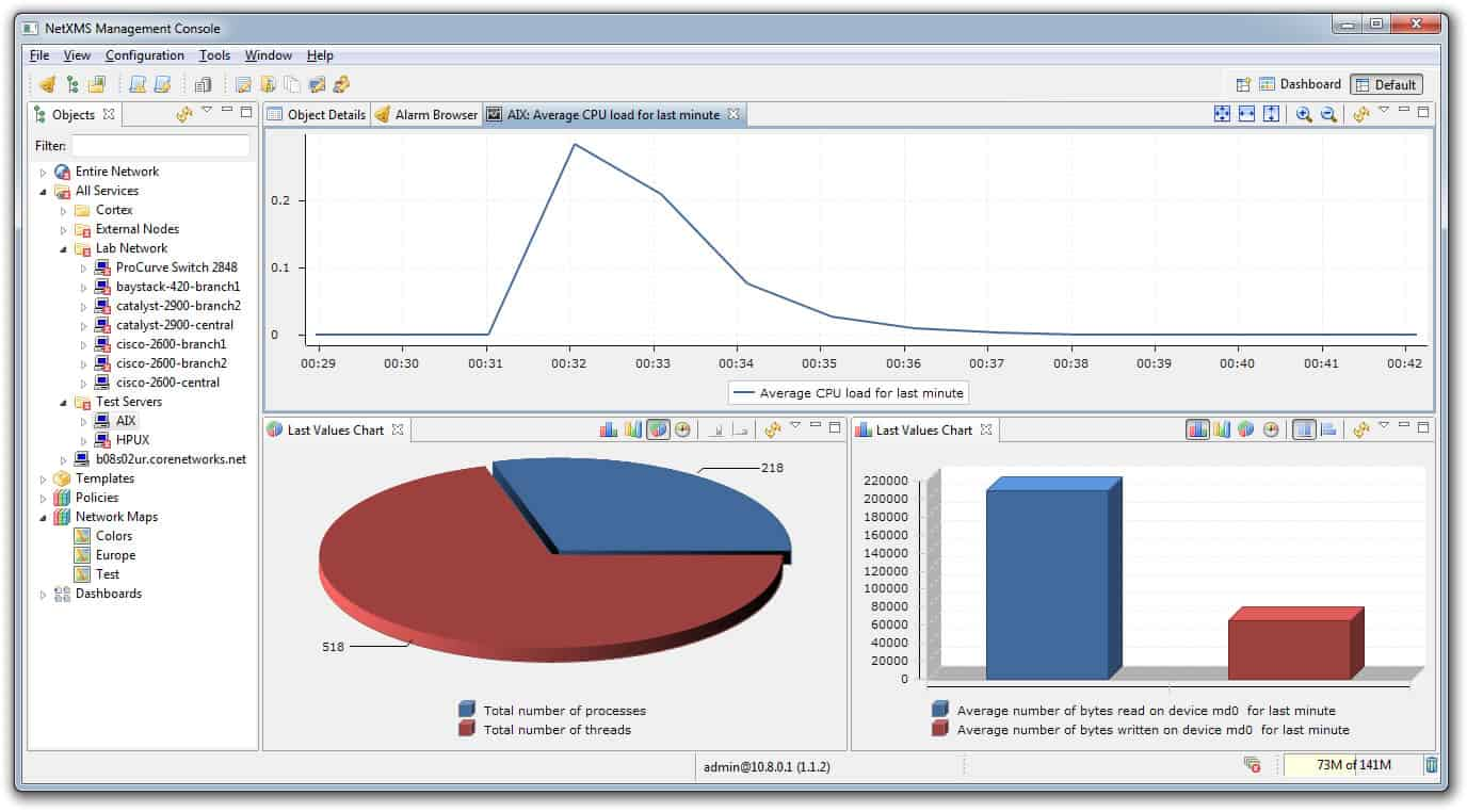 NetXMS management console