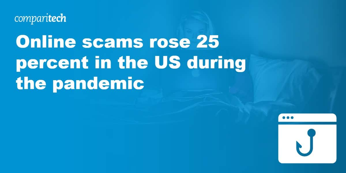Online scams rose 25 percent in the US during the pandemic