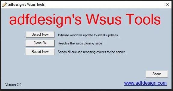 ADF Designs WSUS Tool
