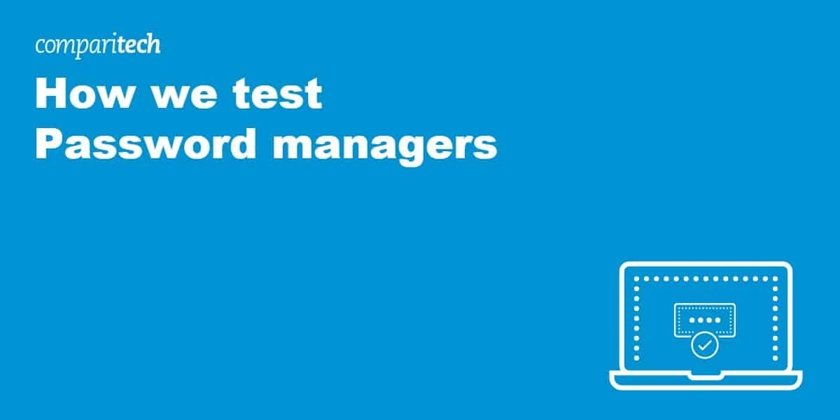 how we test password managers