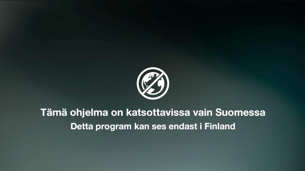 Yle Areena streaming error