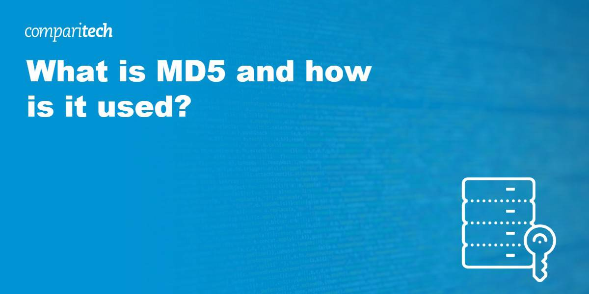 What is MD5 and how is it used