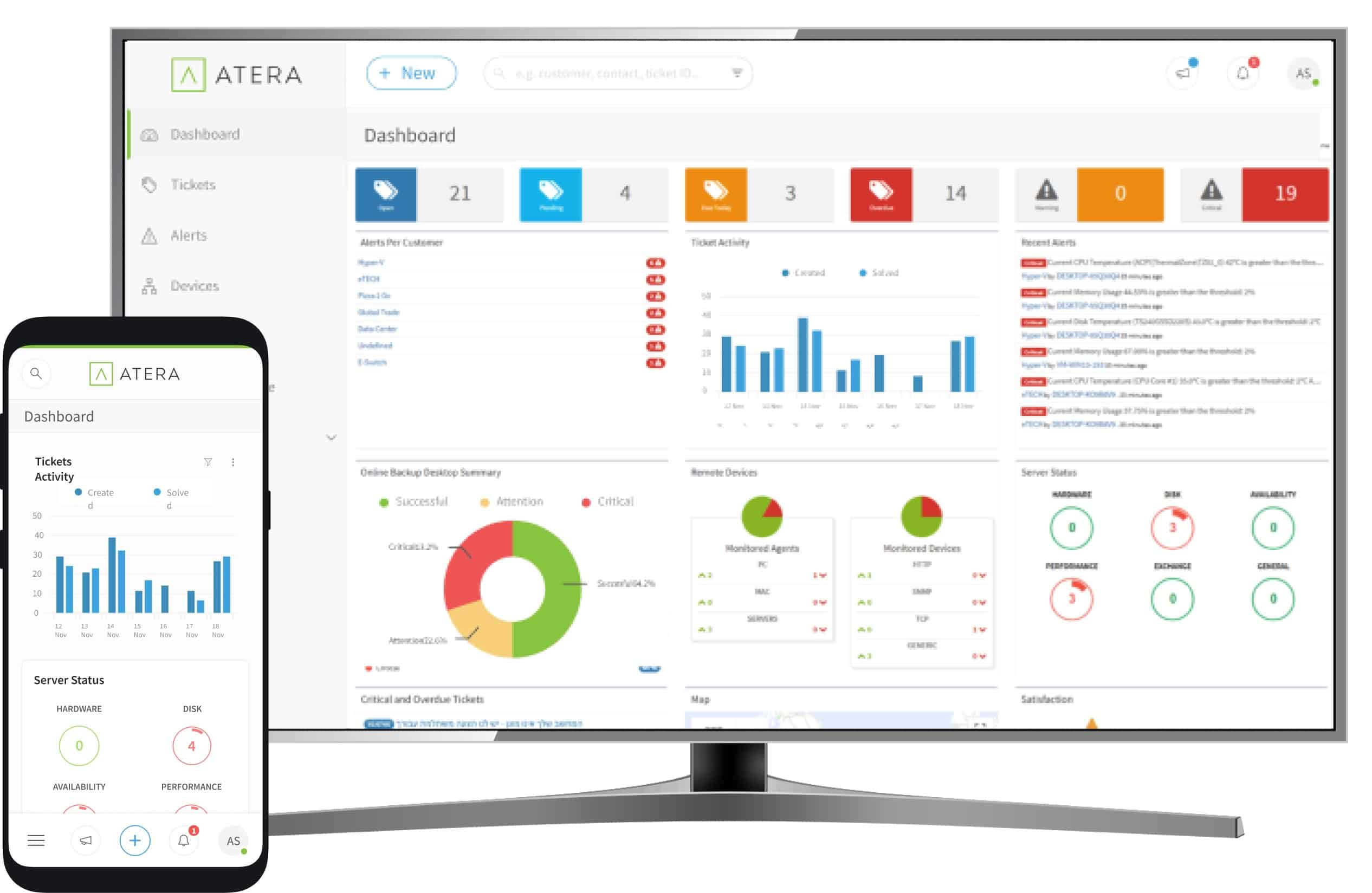 Atera Application Patch Management tool