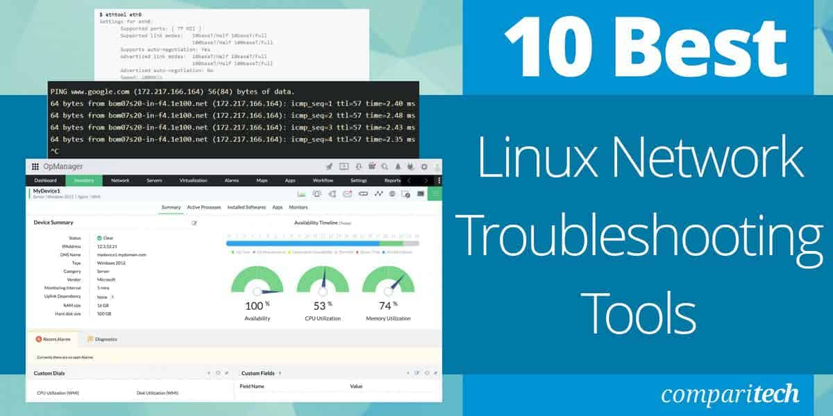 Best Linux Network Troubleshooting Tools