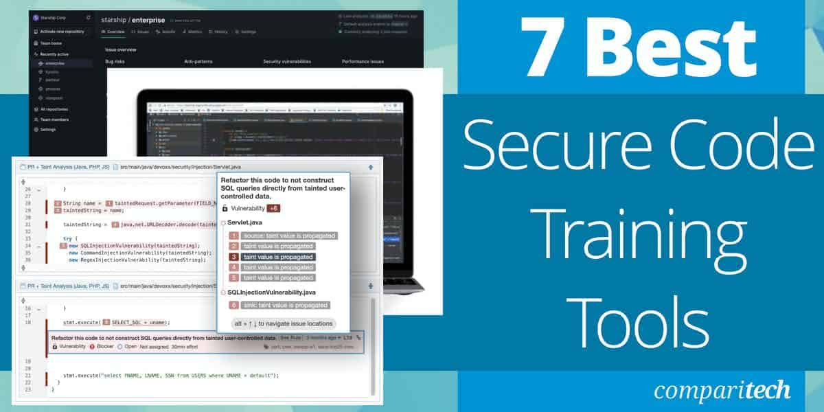Best Secure Code Training Tools