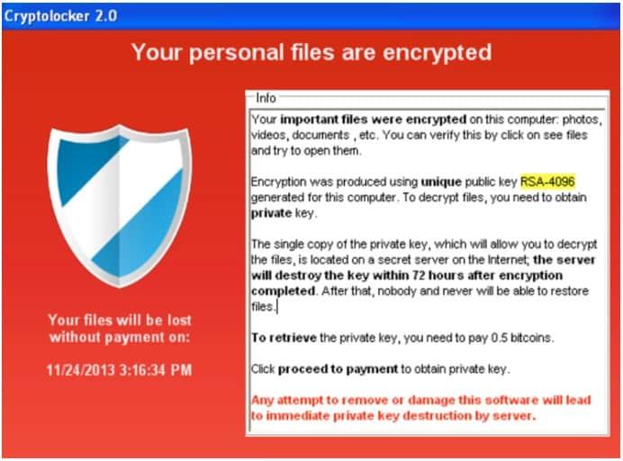ransomware lock screen