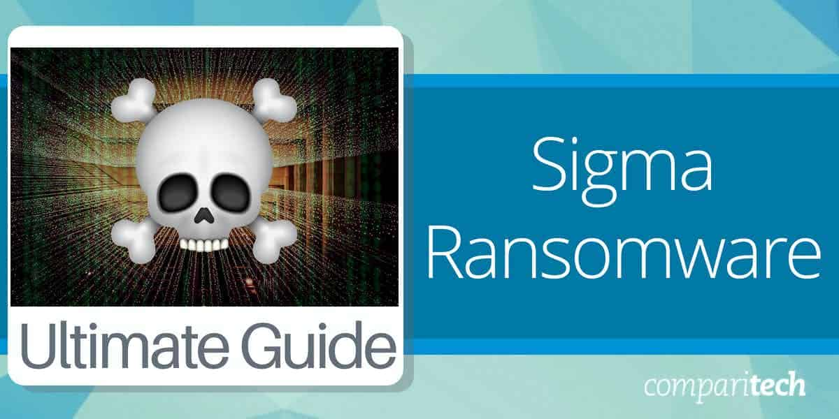 what is Sigma ransomware and how to protect against it