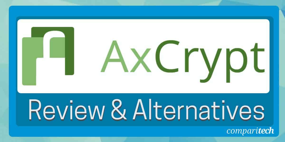 AxCrypt Encryption Software Review and Alternatives