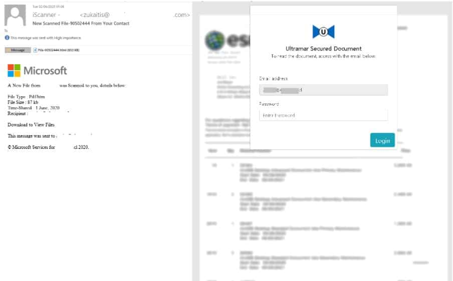 Example Spam Email - Microsoft