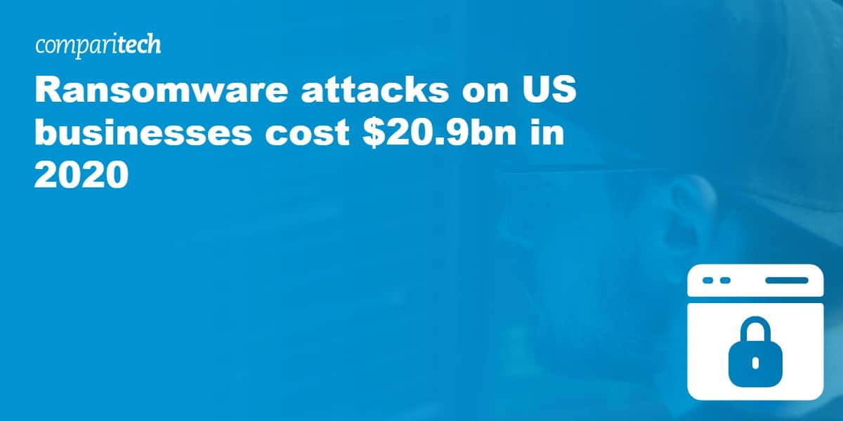 Ransomware attacks on US businesses cost $20.9bn in 2020