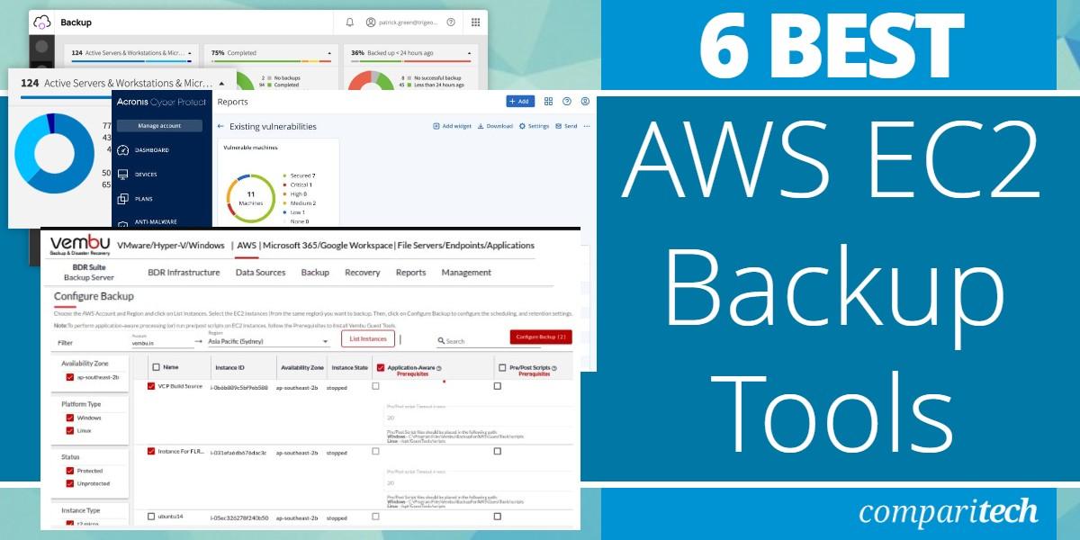 Best AWS EC2 Backup Tools