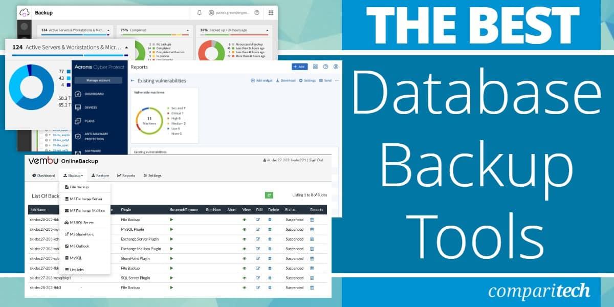 Best Database Backup Tools