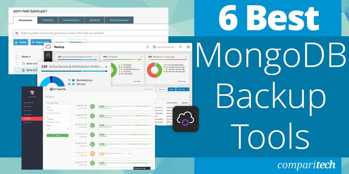 Best MongoDB Backup Tools