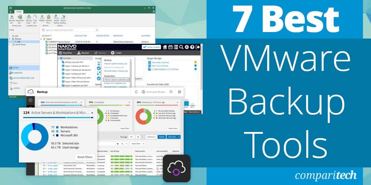 Best VMware Backup Tools