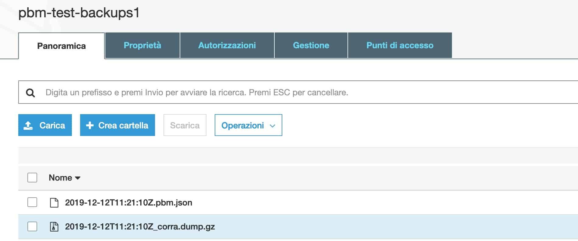 Percona Backup for MongoDB
